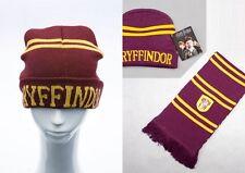 Top Harry Potter Gryffindor Thickened Schal Halstuch Mütze Hut Winterhut Kostüm