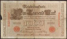 Germany 1910 - 1000 mark [Kr. 45b]