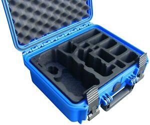 TOMcase DJI Mavic Pro (Platinum) Koffer Tasche Travel Edition Blau