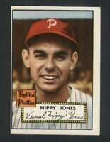 1952 Topps #213 Nippy Jones EX+ Phillies 109219
