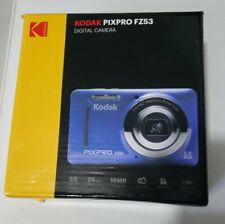 Brand New Kodak PIXPRO FZ53 Compact Camera 16mp, 5X Optical Zoom - Blue