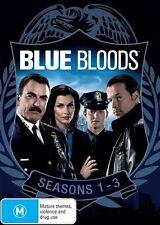 Blue Bloods : Season 1-3 (DVD, 2014, 18-Disc Set)