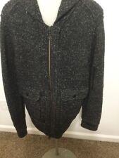banana republic Shawl Knit Zip Front Sweater