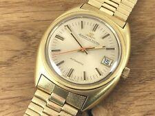 JAEGER Le COULTRE 564 Master K883 Automatic Gold Plated NSA Bracelet Vintage JLC