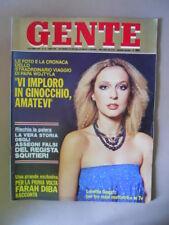 GENTE n°41 1979 Loretta Goggi Farah Diba Farrah Fawcett Jane Fonda  [G67]