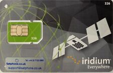 New Pre-paid SIM card for Iridium