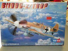 HobbyBoss #80224 Bf109G-2/TROP 1/72 Scale Plastic Model Kit NIB