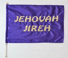 JEHOVAH JIREH -  Flag w Pole -  Christian Worship / Warfare  Dance