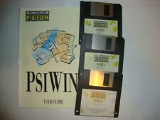Psion PsiWin for Windows User Guide, CD & 3 Disks