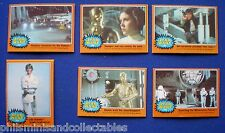 Topps 1977  ' Orange '  Star Wars Gum Cards  * Choose The One's You Need *