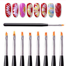 Acrylic Nail Art Brush Sable Gel UV Flower Drawing Paiting Pen Polish Pen Tools