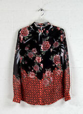 Camicie / Bluse Donna Guess W81h23 Primavera/estate 2018 Vintage Roses Combo S
