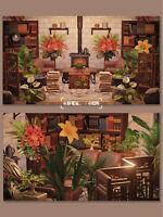 Green Plant Studying Room Furniture Set 42 pcs - New Horizons [Original Design]