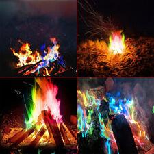 10G FIRE POWDER MAGIC TRICK COLOURED RAINBOW FLAMES BONFIRE FIREPLACE