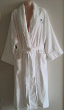 Bath Robe 1200gsm Soft luxurious 100% cotton Unisex one size fits all - White