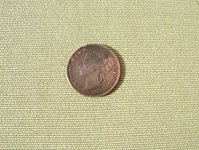 1875  'STRAITS SETTLEMENTS'  COPPER  ONE CENT COIN....  GOOD GRADE       M.B.(A)