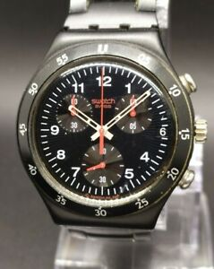 Vintage Swatch Irony Aluminium Chronograph Swiss Made Men's Watch