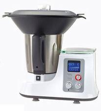 Quigg Multifunktions-Küchenmaschine mit Kochfunktion + Dampfgaraufsatz + Waage