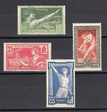 FRANCE: SERIE COMPLETE DE 4 TIMBRES NEUF** YTN°183/186 Cote: 160,00 €