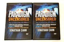THE PARADIGM UNCENSORED The Full Revelation Jonathan Cahn 8 DVDs Album 1 & 2 SET
