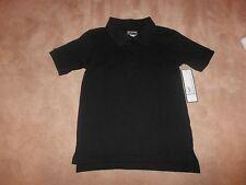 New, Boys Black Polo School Uniform, Size Xs 4/5, George