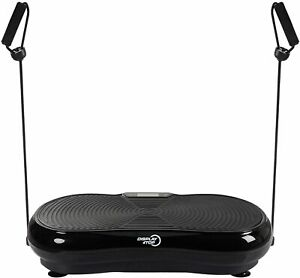 display4top Ultra Slim Vibration Plate Exercise Machine,5 Programs + 180 Levels,