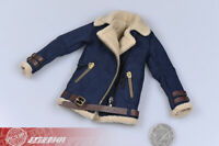1/6 Lambskin jacket sherpa Coat Suit fit 12'' Phicen TBL Female Figure Doll