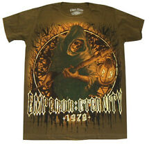 Men Absolute 100% Cotton T-shirt Sz.M Vtg Tattoo Dark Ghost Legend  ( i120)