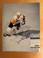 Pittsburgh Penguins Mario Lemieux  Signed 11x14 Photo With PSA/DNA
