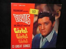 ELVIS PRESLEY GIRLS GIRLS GIRLS SOUNDTRACK RCA LSP-2621 STEREO  NEAR MINT