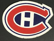 Montreal Canadiens NHL Hockey Crest Jersey Patch Vintage Logo Original 6