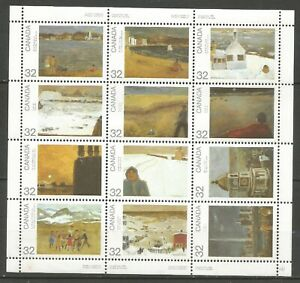 CANADA  Feuille n°  874-885 neuf ★★ Luxe 1984 / MNH