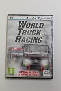 World Truck Racing Set PC Simulacion. Language French, New And Sealed