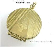 9 Carat Pendant/Locket Vintage Fine Jewellery (1950s)