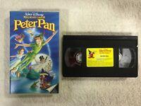 PETER PAN VHS CINTA TAPE WALT DISNEY