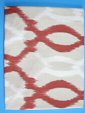 West Elm Organic Ikat Links King Sham Ginger New