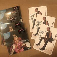 AUTOGRAPHED Print + Future Nostalgia (CD) - Dua Lipa Signed Card