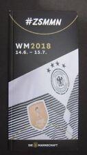 NEU Programm Offiz. Fan Guide DFB Kader Mannschaft Deutschland WM 2018 Russland