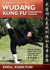 Wudang Kung Fu Fundamental Training, Basic Sequence, and Applications (DVD)