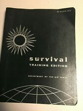 Vintage Air Force Survival Training Edition Book 64-3