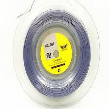 Kelist Rough tennis string polyester ,same as the luxilon,200M/Reel ,silver