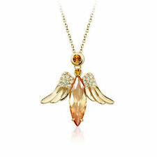 Angels Rose Gold Plated Fashion Necklaces & Pendants