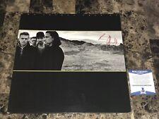 U2 Bono Signed Joshua Tree Vinyl LP Record Autographed + Candid Photo Proof BAS