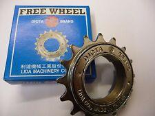 FREEWHEEL 16 TOOTH BMX CYCLE BIKE DICTA SILVER NEW FIXIE SINGLE SPEED