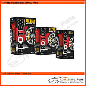 Protex Ultra Front Pads for Toyota Hilux KUN26R, SR, Workmate 2D Cab Chassis