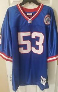 Harry Carson 1986 Mitchell & Ness New York Giants Throwback Legacy Jersey 3XL 56