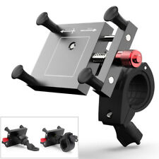 Adjustable CNC Motorcycle Rearview Mirror/Handlebar Mount Mobile Phone Holder