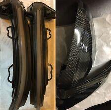 Audi A5 S5 RS5 F5 2017-2018 Carbon Fibre wing mirror Covers & Dynamic Indicators