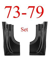 73 79 Ford Rear Door Post SET, Regular Cab, Truck, F150 F250 F350 78 79 Bronco