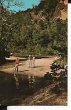 devils elbow region of  the ozarks of hwy 55 ,missouri postcard 1960s era